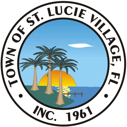 Town of St. Lucie Village Logo and Seal
